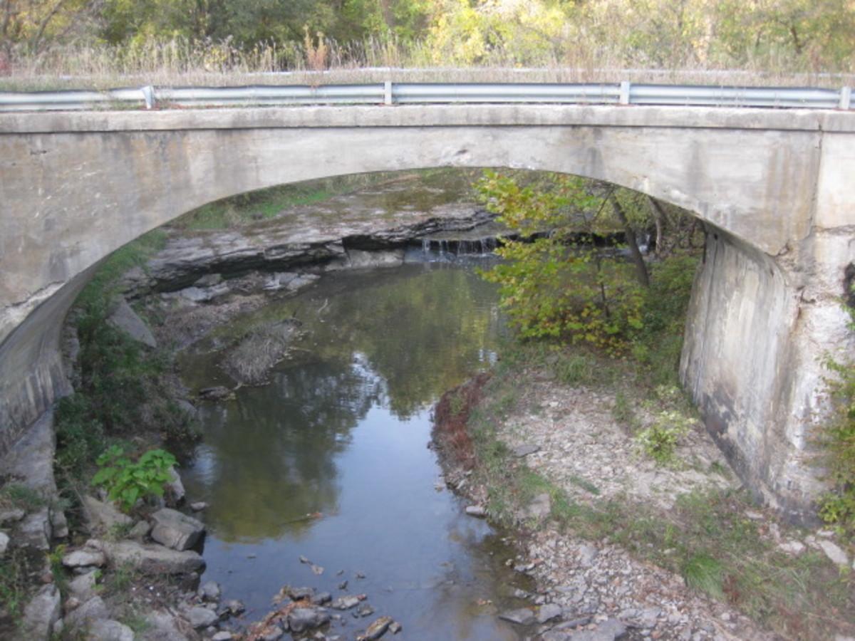 South Arch of Todd Creek bridge