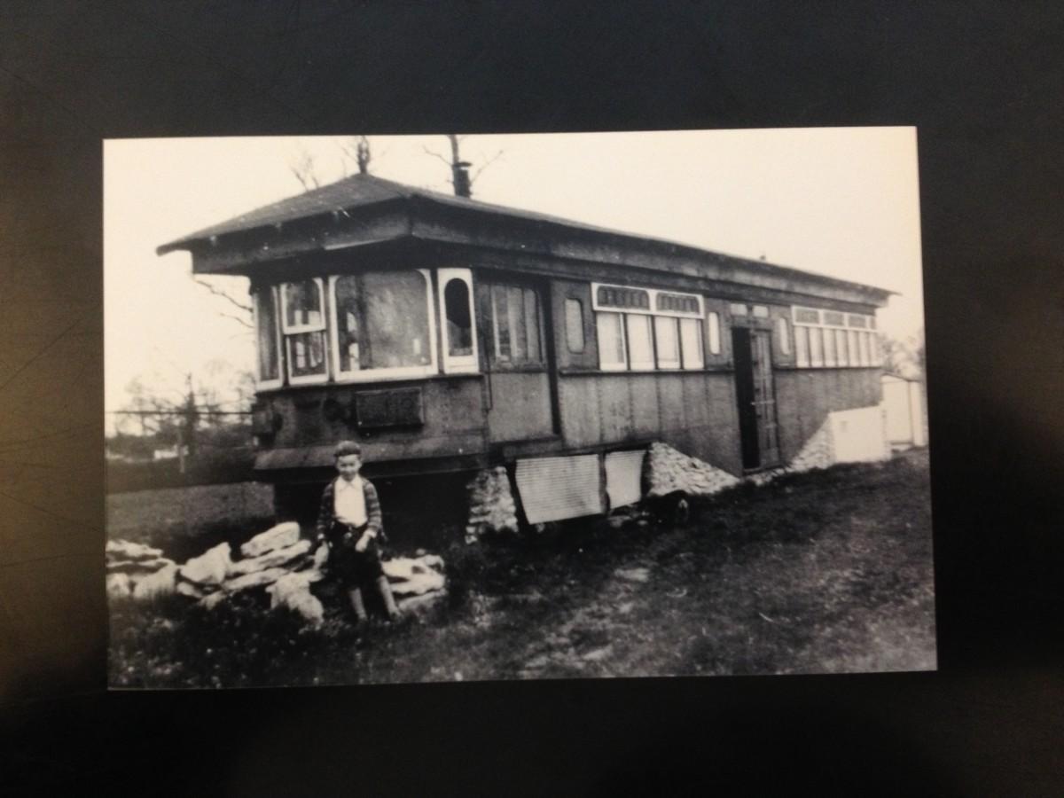 Car 43 Interurban Coach as a 1930s mobile home.  Still there?