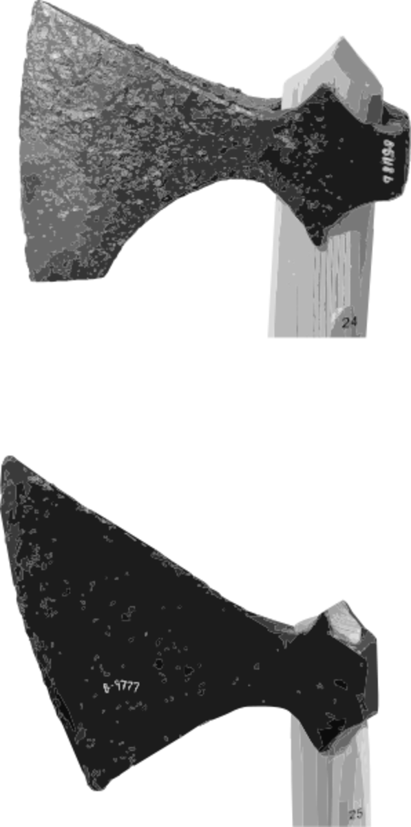 Viking Axe Heads