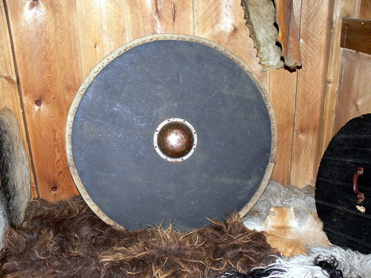 Reproduction Viking Shield