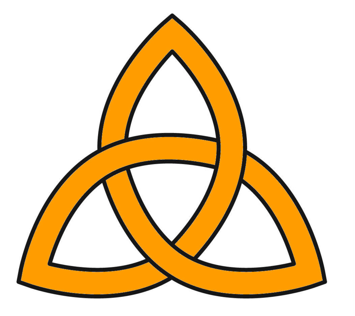 Traditional symbol for the Holy Trinity