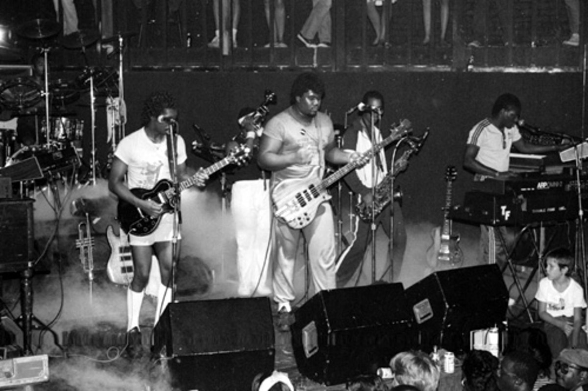 Trouble Funk On Stage