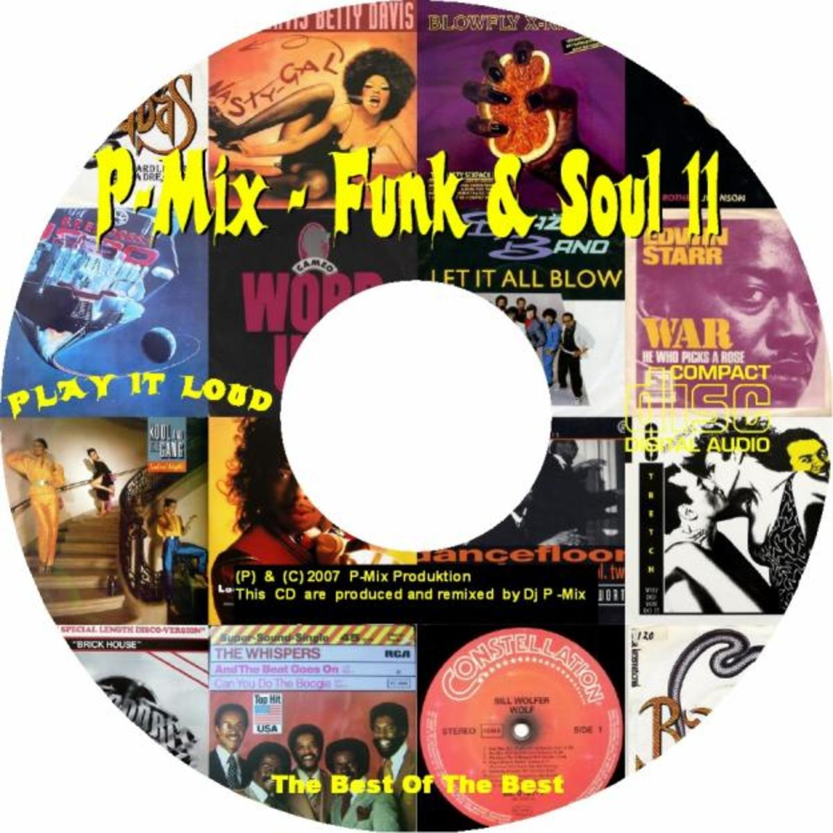 Party Mix, Funk, soul and Disco