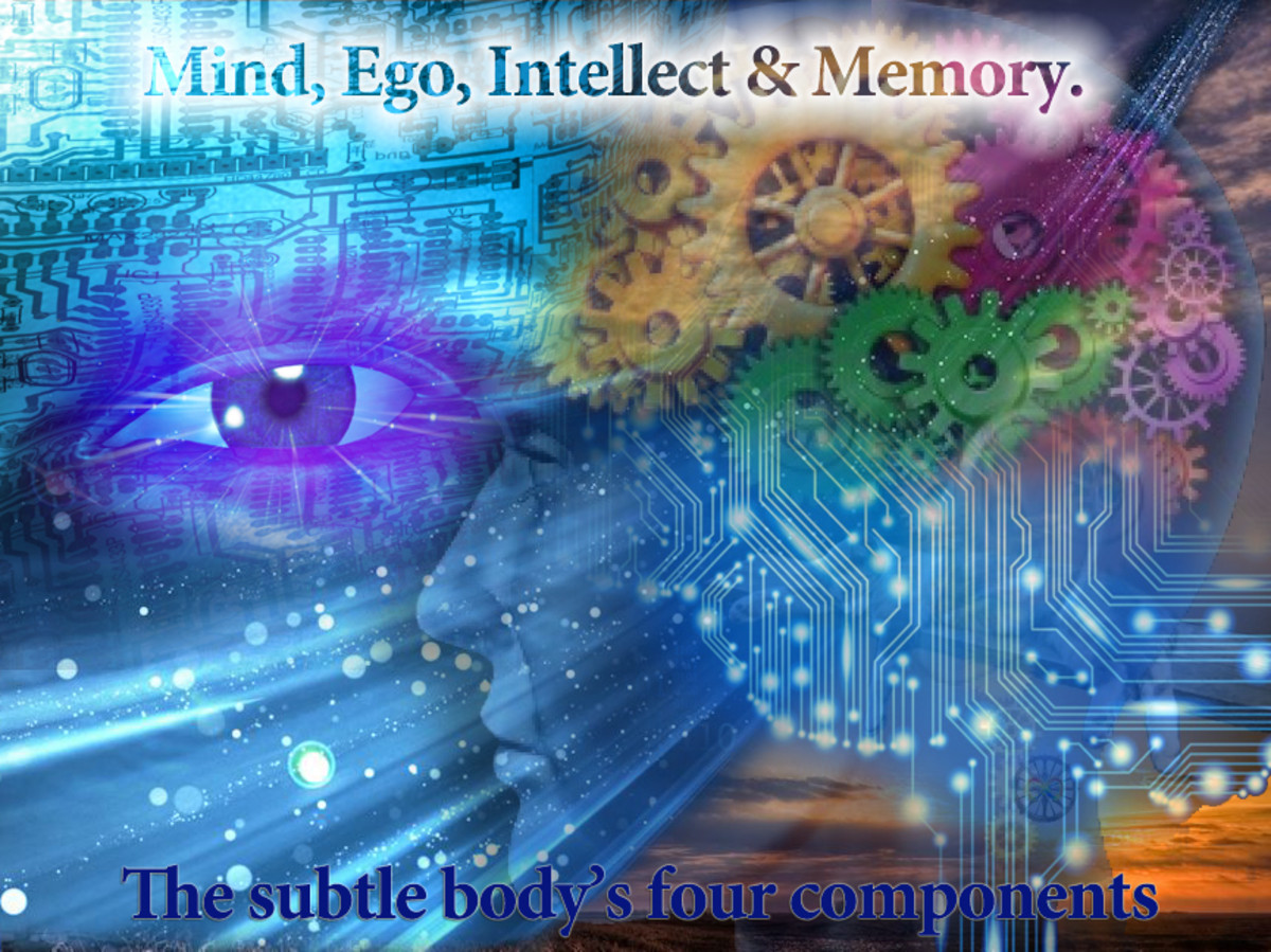 Mind,Ego,Intellect and Memory