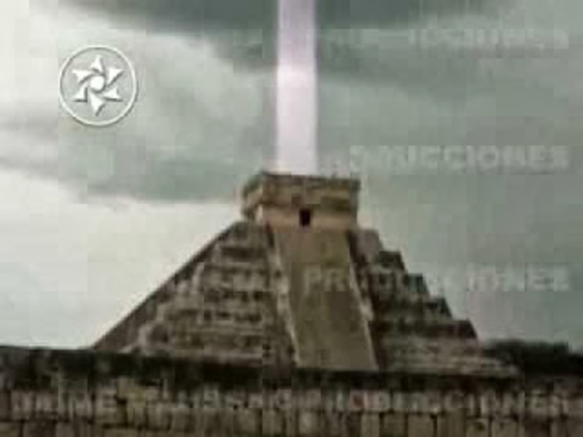 Aztec Pyramid in Mexico