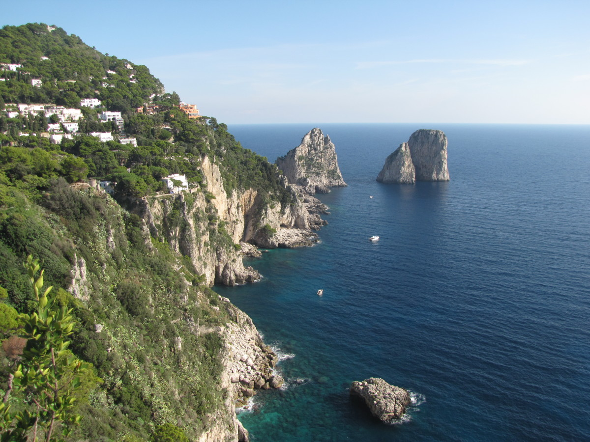 Visiting The Gardens of Augustus: Isle of Capri