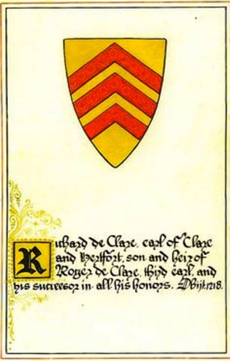 DeClare or DeClair family crest - the line goes back some way and includes the dukes of Birgundy