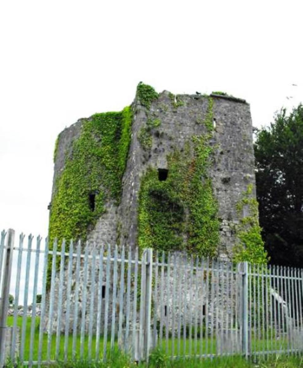 Part of the remains of Clare Castle in Ireland - Henry II probably believed the DeClare clan had ambitions he could not afford to allow