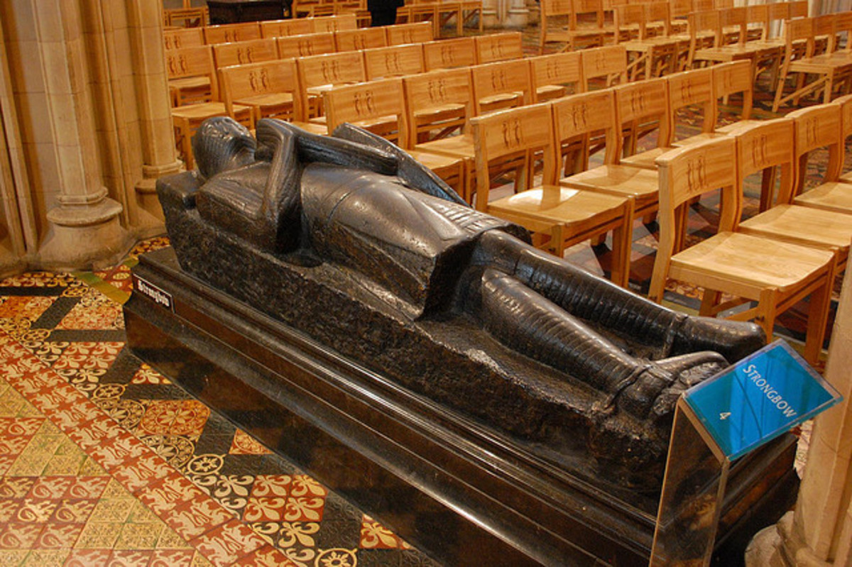 Tomb of Richard de Clare, 'Strongbow' at Holy Trinity Church, Dublin