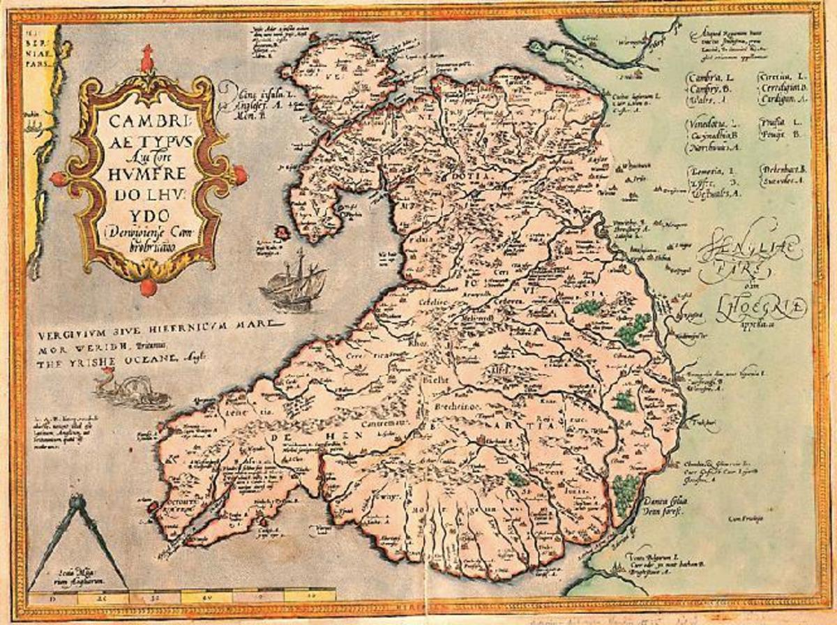Wales at the time of Richard fitzGilbert de Clare and Henry II