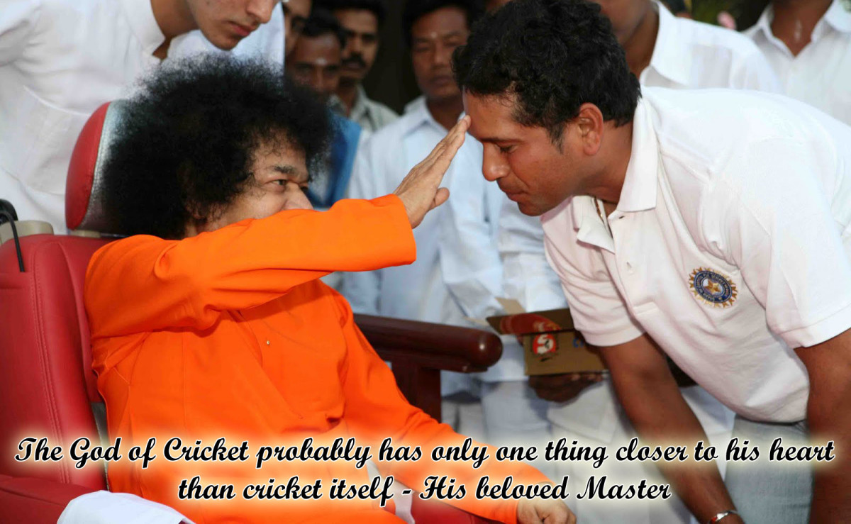 Sachin Tendulkar And Sathya Sai The Story Of The Little Master And His Little Master Hubpages
