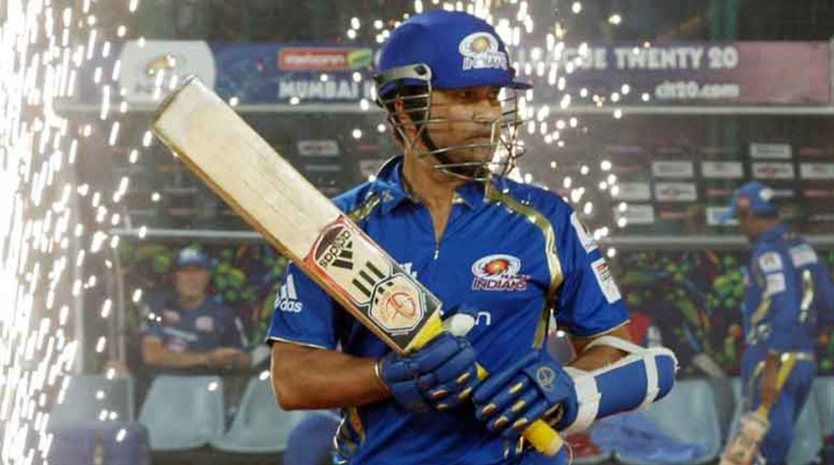Sachin was in no mood to be part of the party that day...  (representative picture - not actual day)