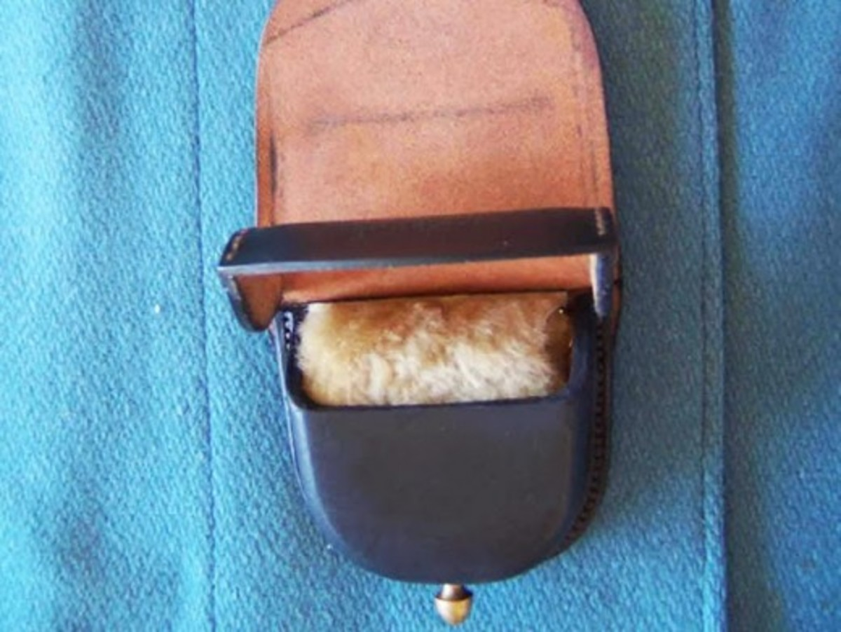 Fig. 15: Cap Pouch with fur-lined top