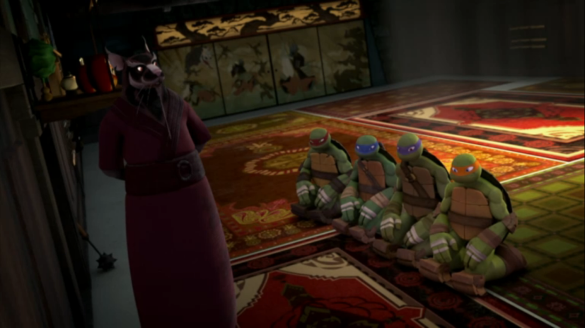 Splinter and the Turtles
