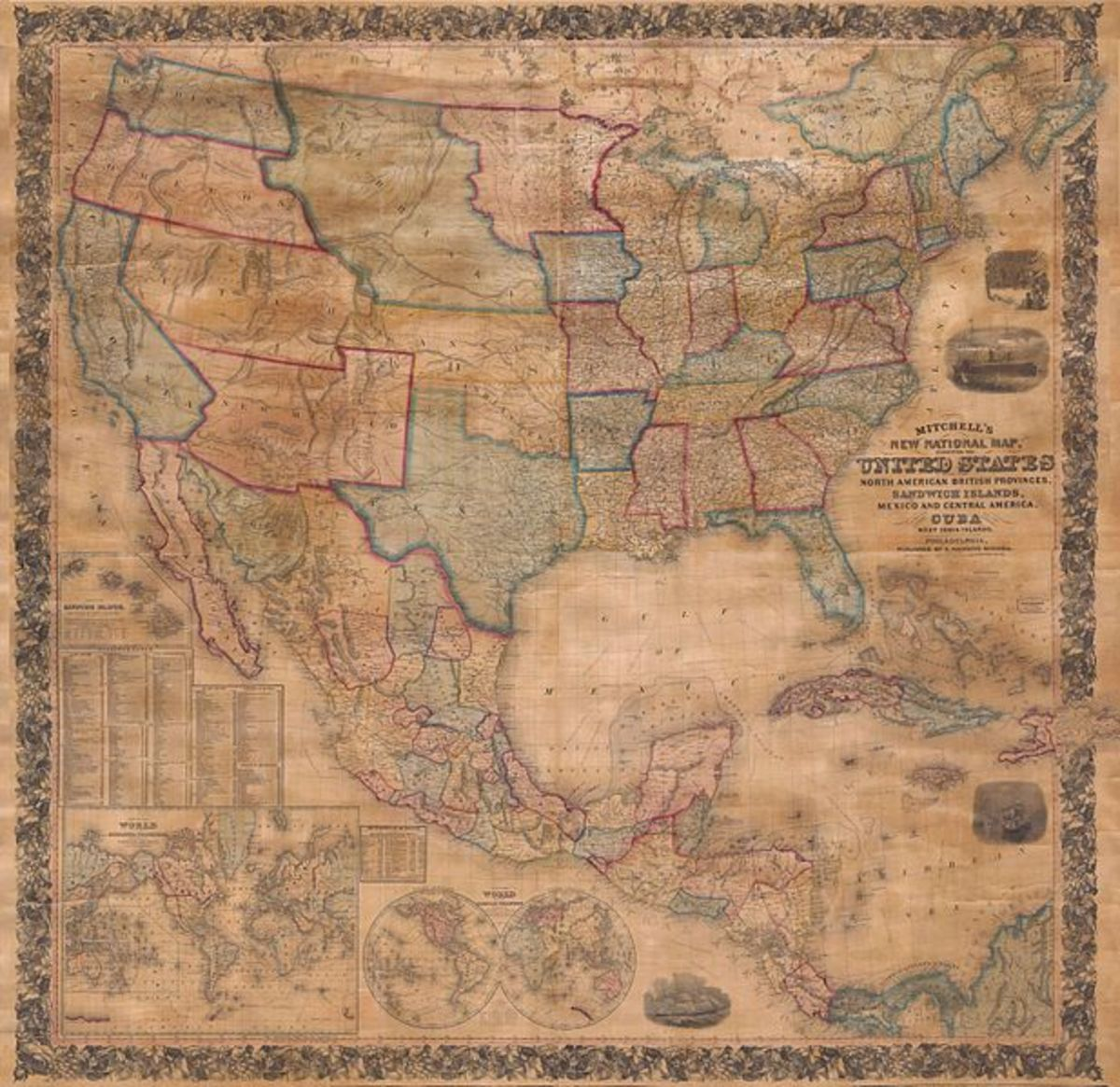 Don't just point to a map and expect students to know what they should be looking for. Consider using comparing and contrasting techniques with old and modern maps.