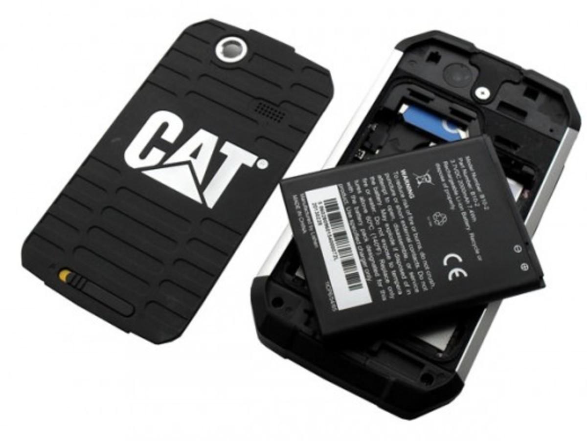 CAT B15 Inside