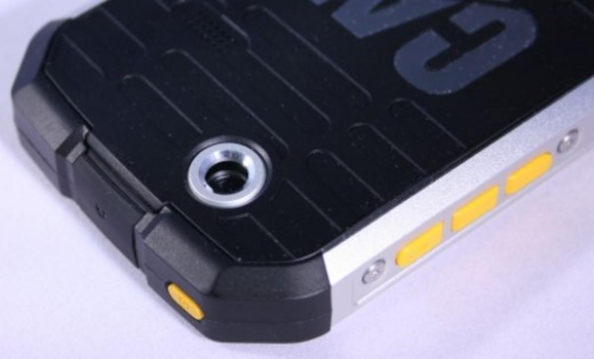 CAT B15 rear camera