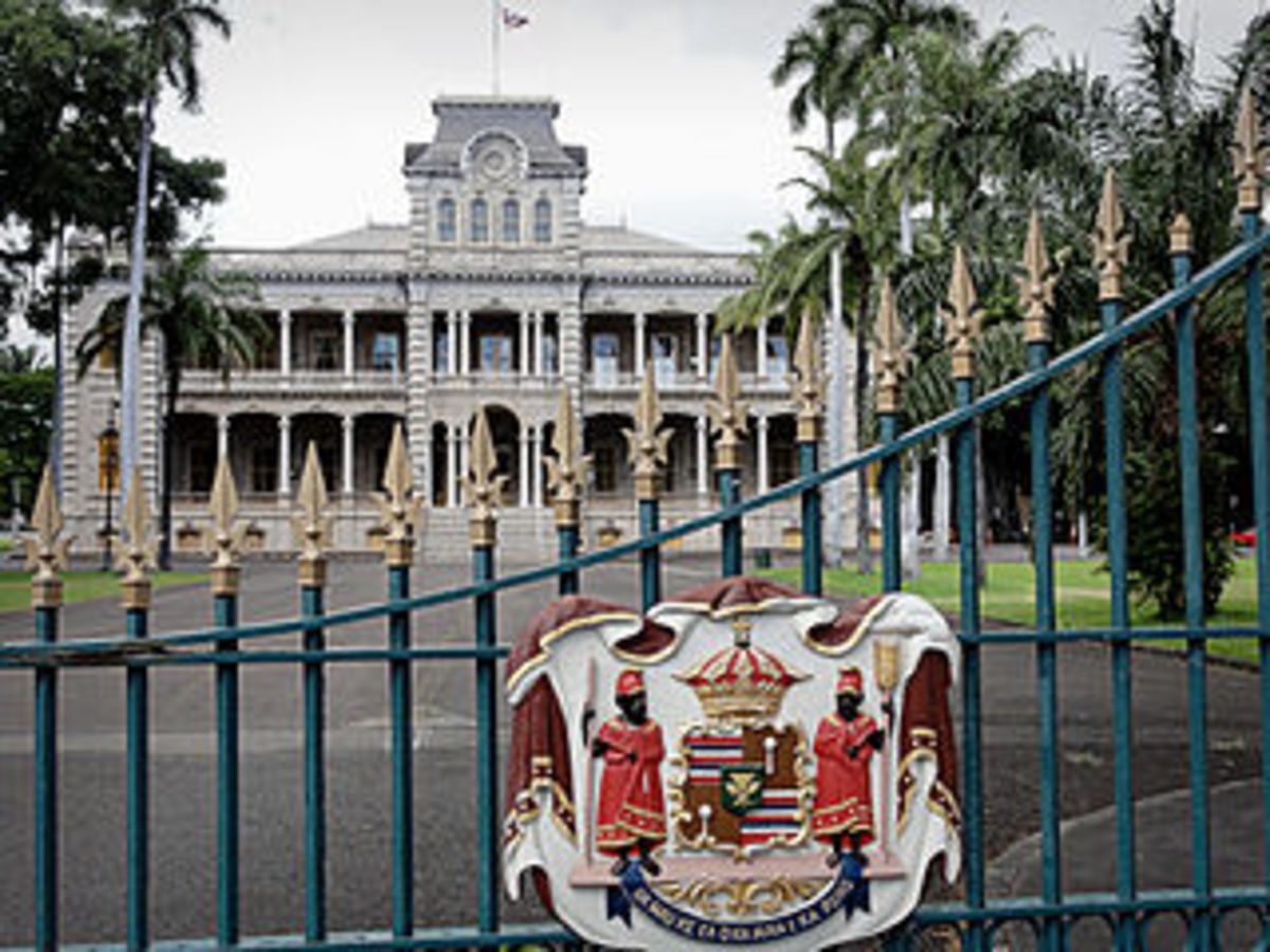 'Iolani Palace for Royals of Hawaii