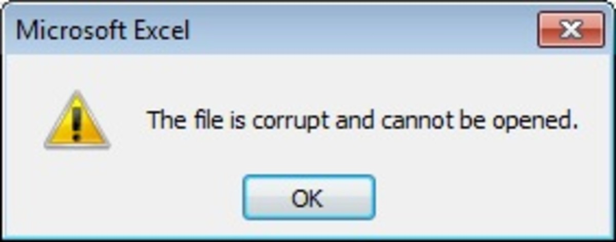 Office 2010: The file is corrupt and cannot be opened