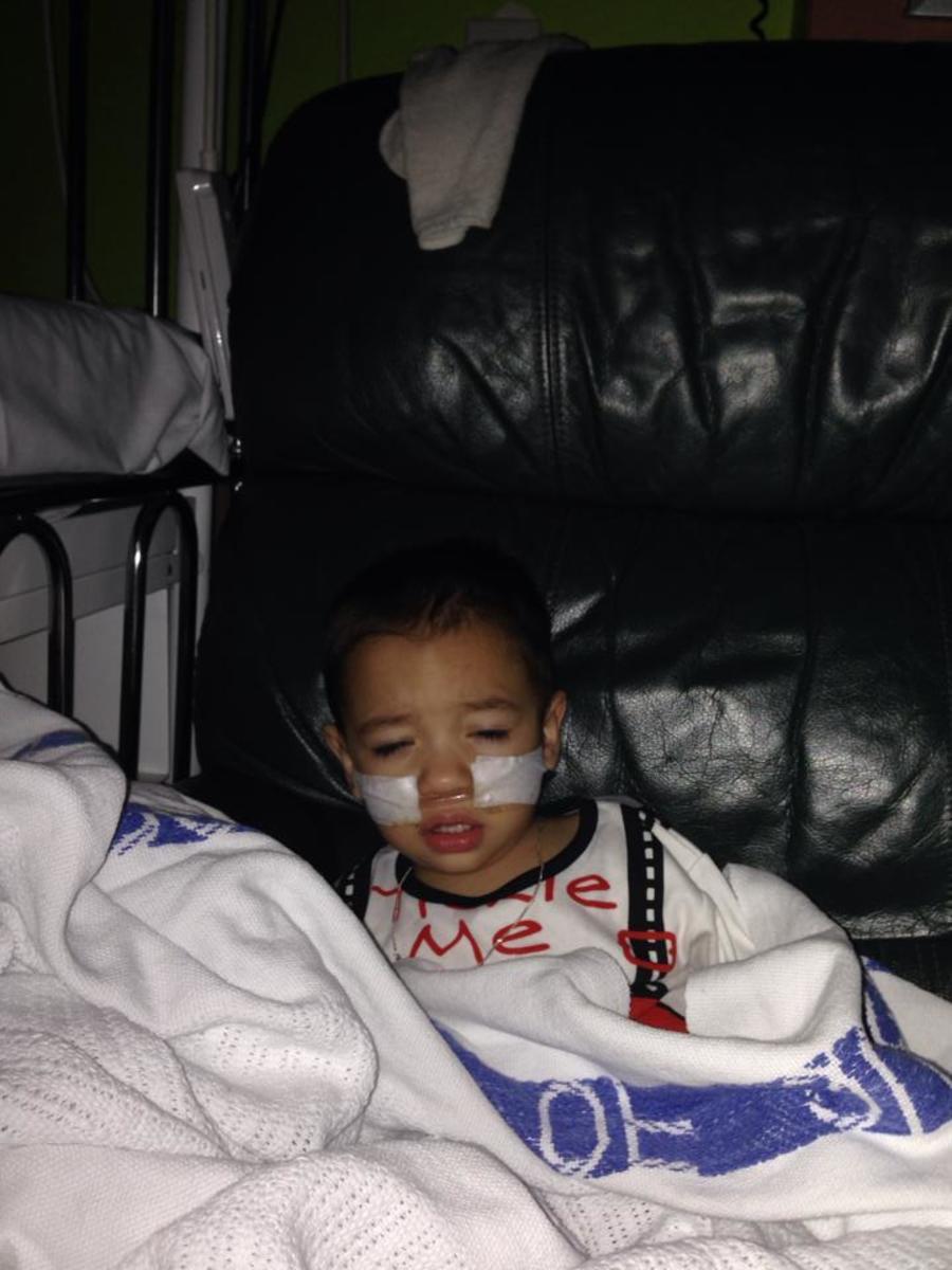 Taidan in Hospital