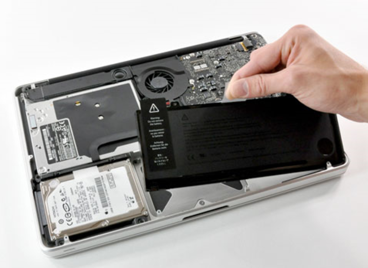 MacBook Integrated Battery