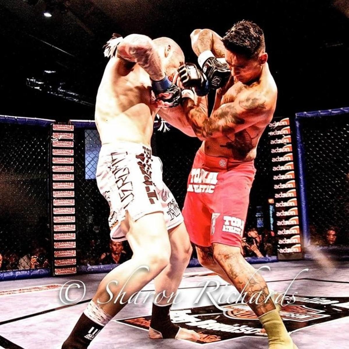 "Trent ""Hammer"" Hansen vs Louis Michael ""Badass"" Badato"