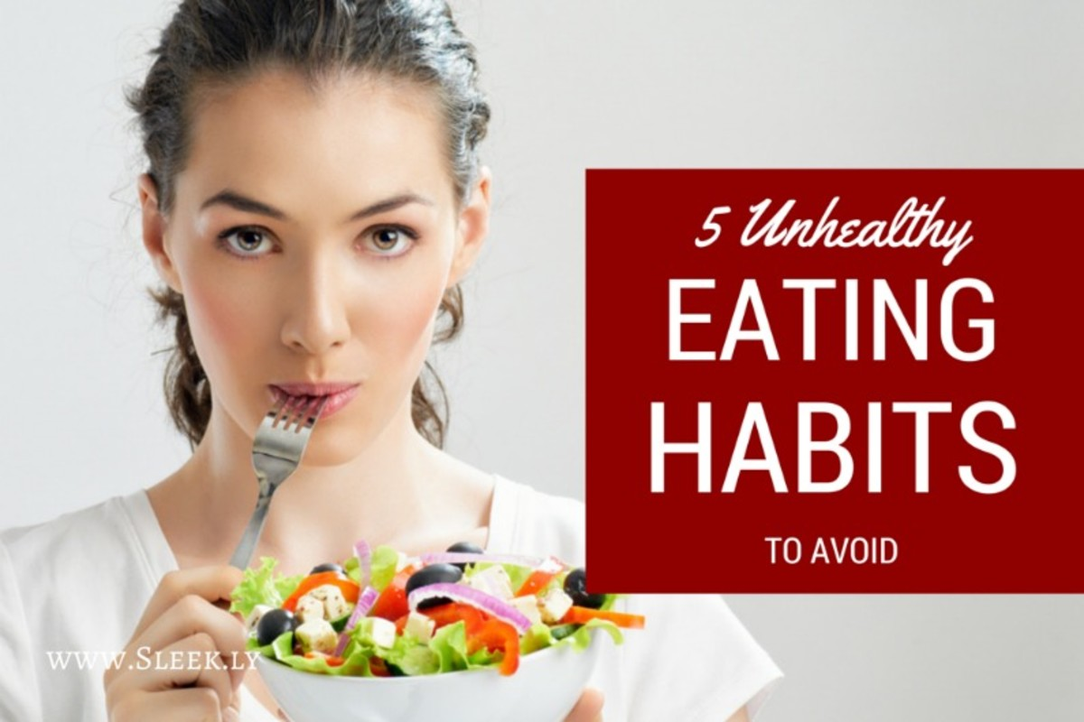 Avoiding unhealthy eating Habits | hubpages
