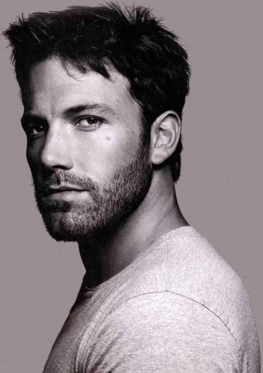 Ben Affleck in Black and White
