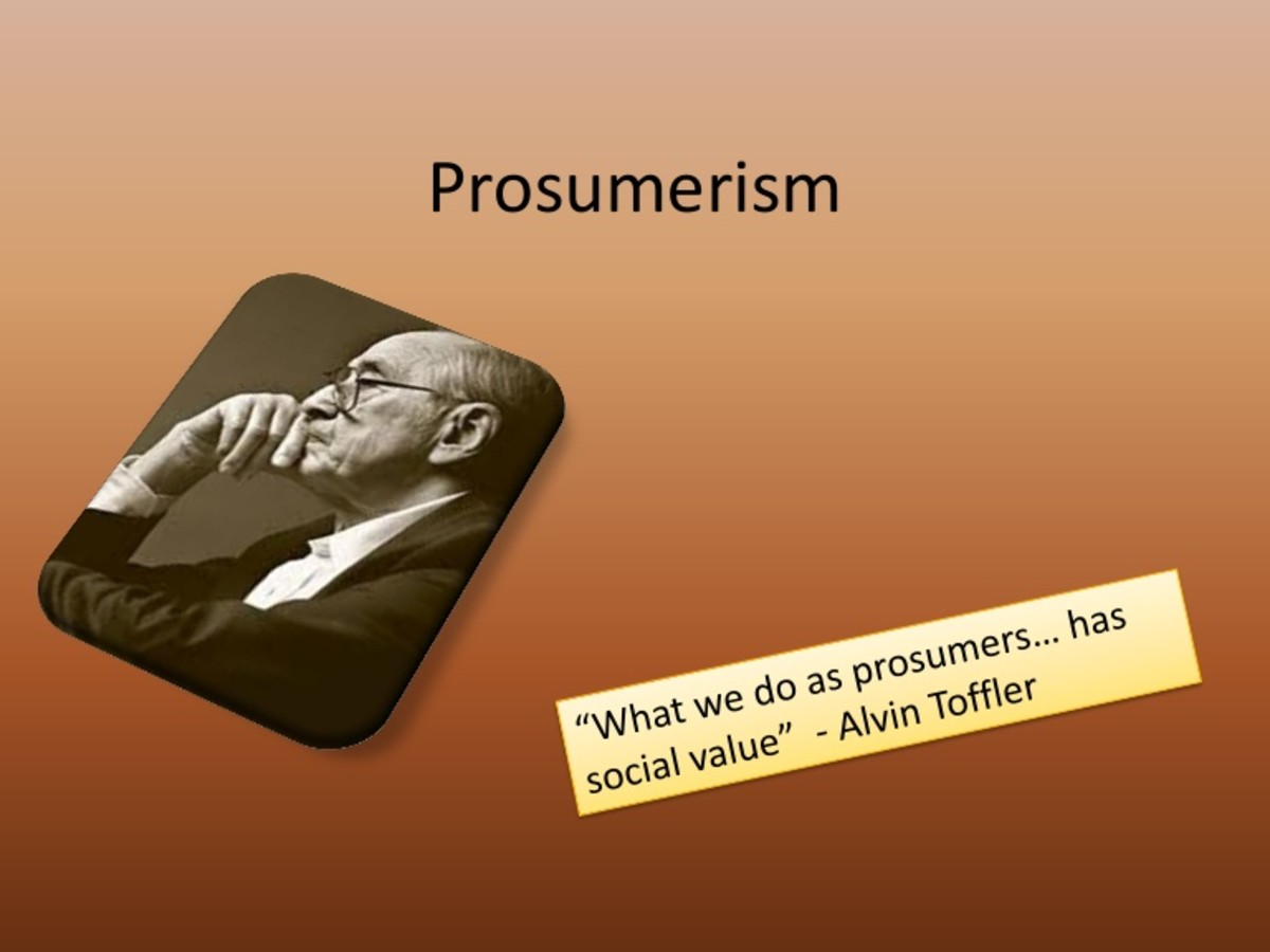 Prosumerism - A Technological Alternative to Traditional Capitalism