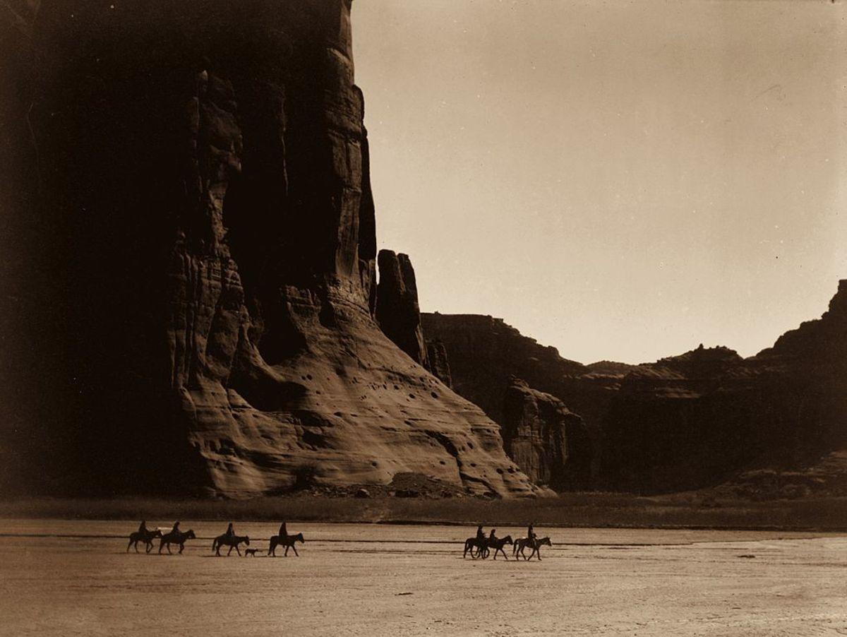 Canyon de Chelly within the Navajo Nation,  Arizona