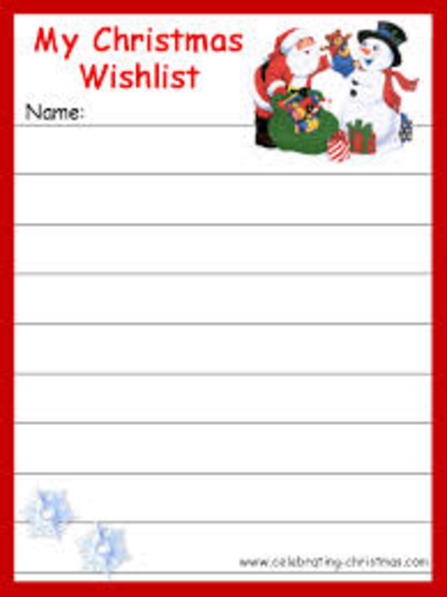 Make a wish list to get what you want