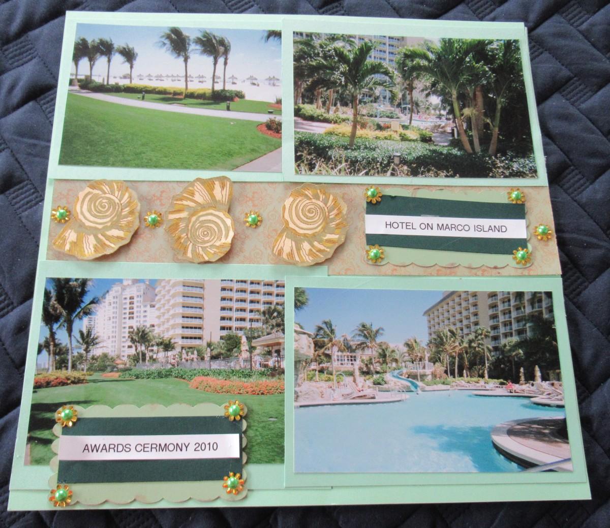matting-photos-in-scrapbooks
