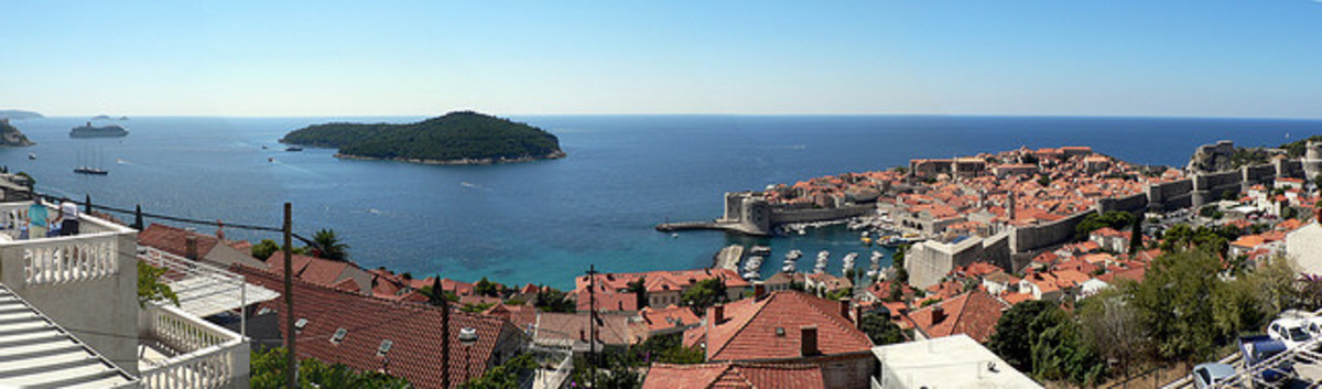 The Old Town of Dubrovnik and Lokrum Island