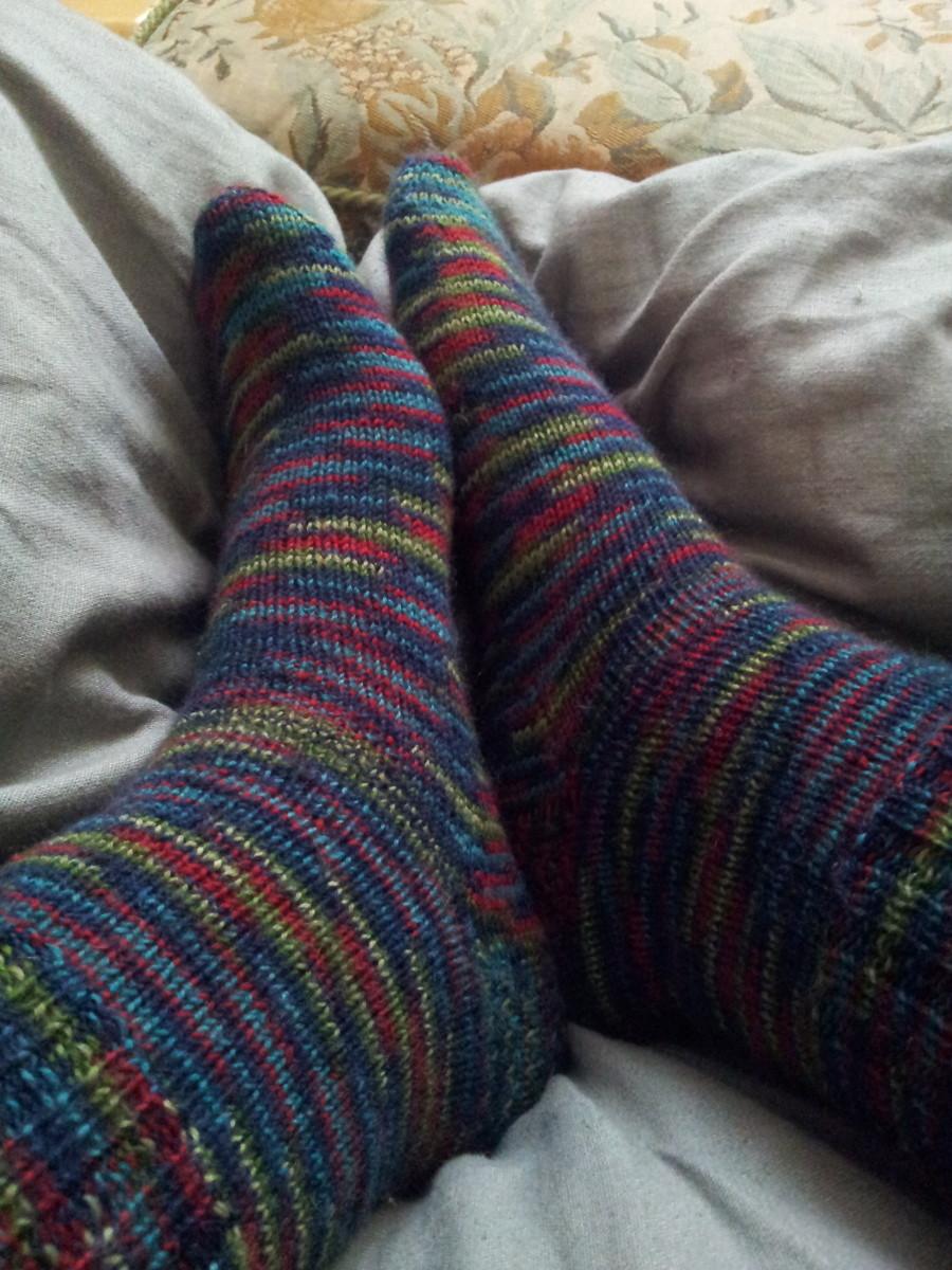 Why knit socks - sock knitting for beginners