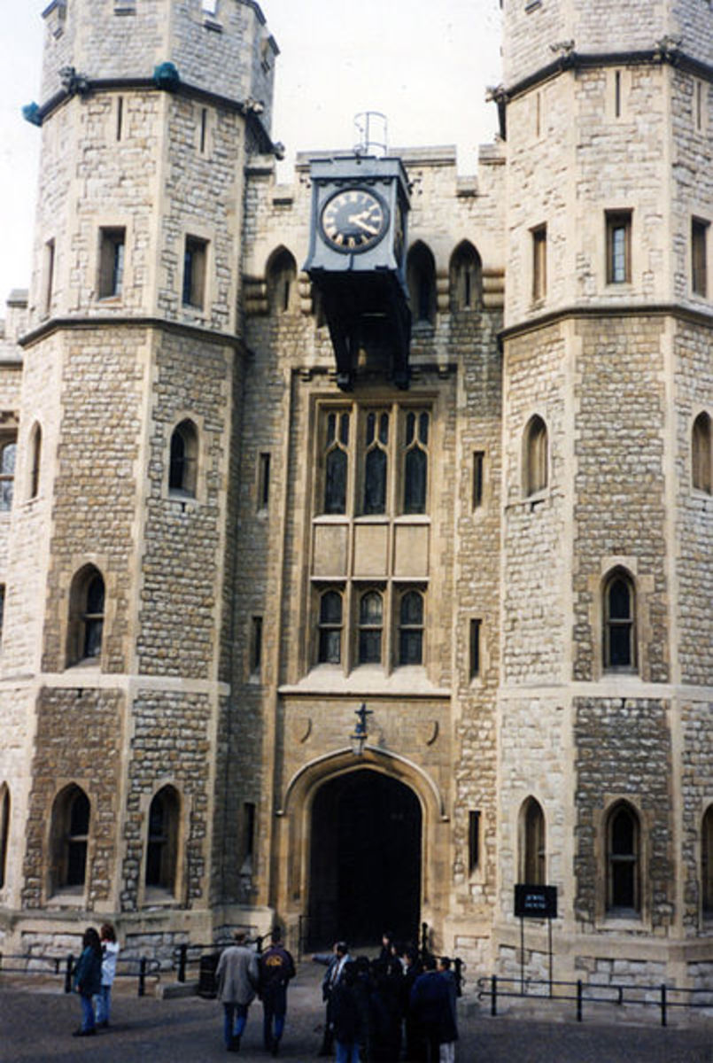 Jewel House at the Tower of London