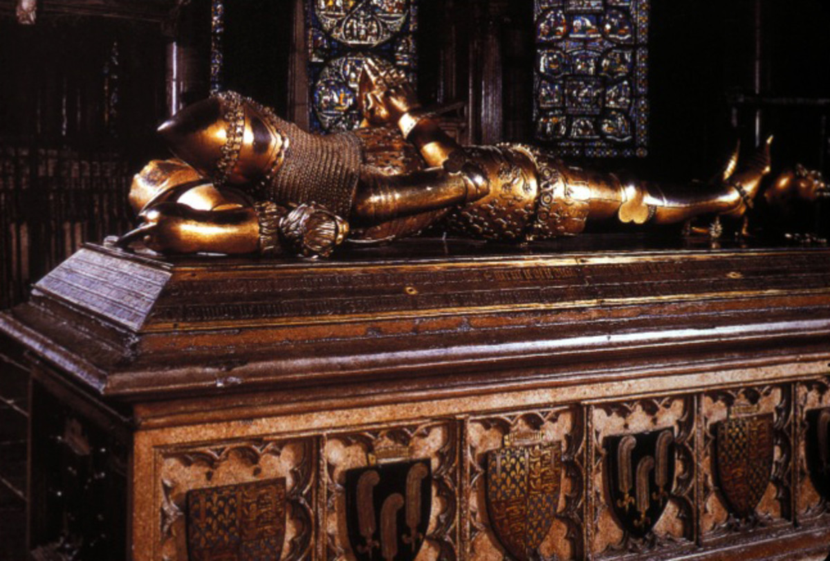 Tomb of Edward, The Black Prince in Canterbury Cathedral