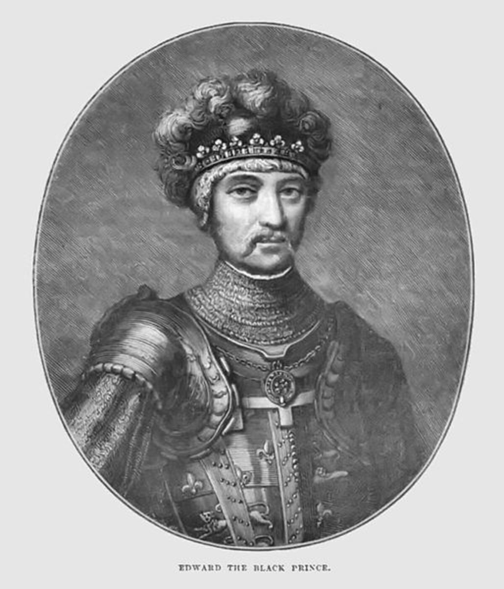Edward of Woodstock, The Black Prince