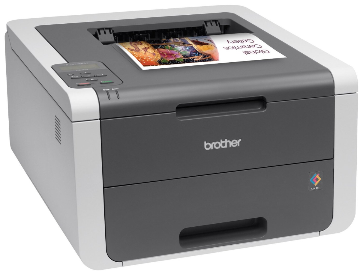 Brother HL3140CW color laser printer with wireless networking
