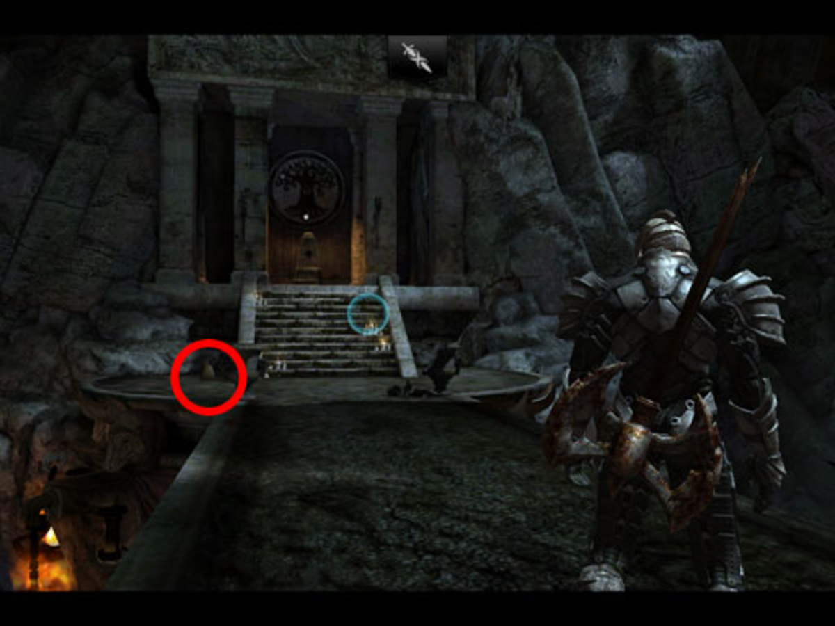 If you've defeated the Seal's guardian (Blood Sentinel), check out the Seal area before jumping off the bridge. There's often a bag by the steps...