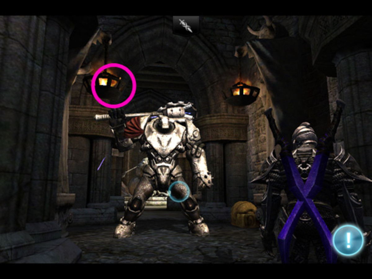 Once Siris stops moving, you can turn around to pick up the two you might've missed. Then click here. Unless it's a potion, it'll be very hard to see.