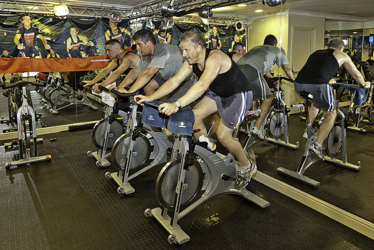 A stationary bike can help you burn calories resulting in weight loss