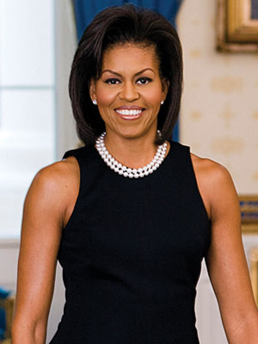 Michelle Obama - 50 years old on January 17th, 2014