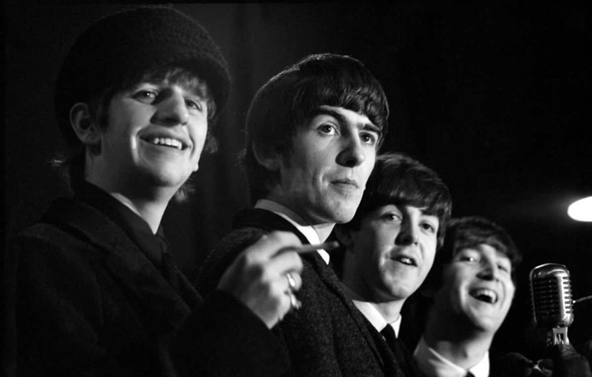 The Beatles first American Tour was in 1964