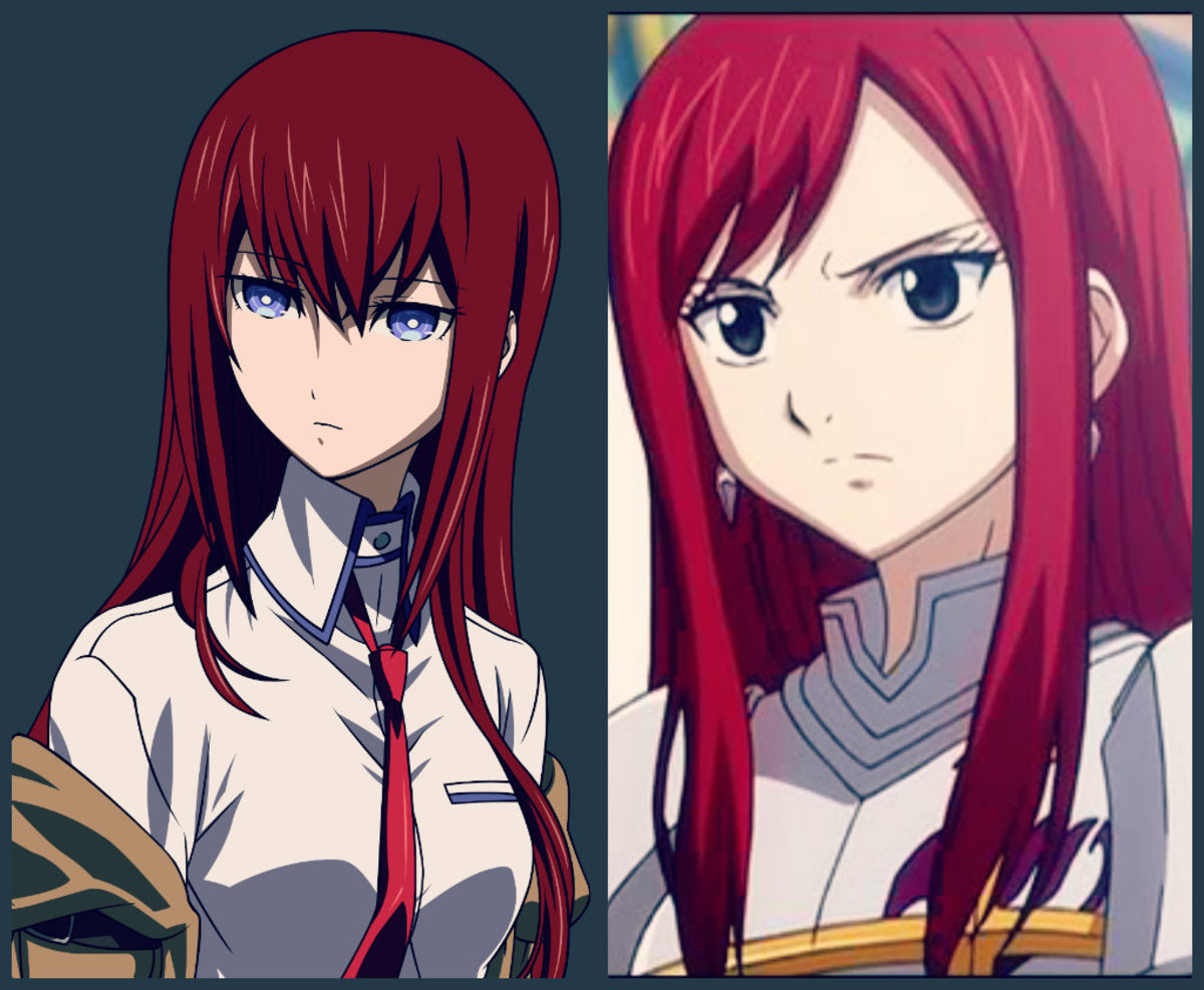 Anime Characters Look Alike : Anime characters who look alike part hubpages