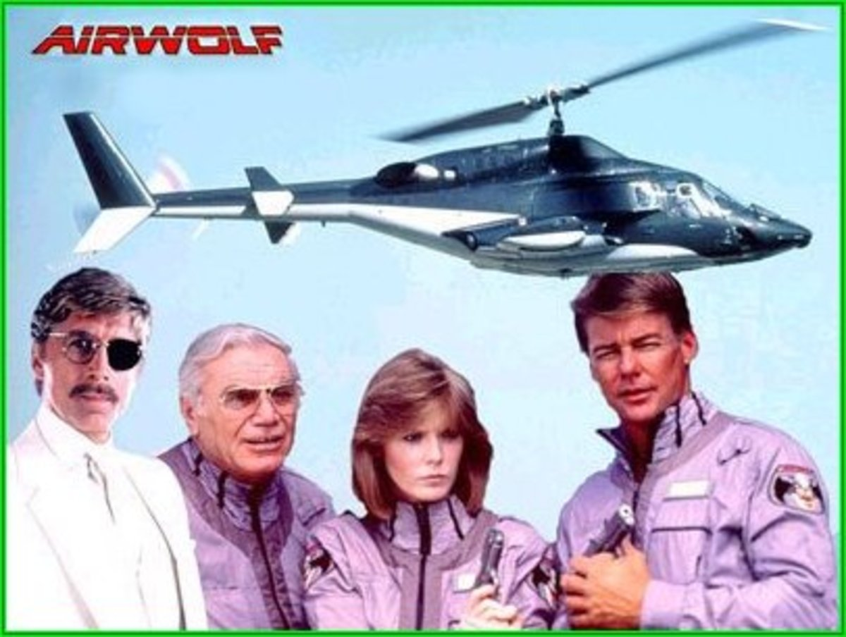 Focus On:  Airwolf Season 2 - A look at the second season of this iconic adventure series