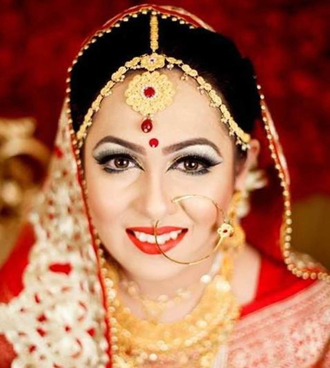 Bangladesh bridal makeover by Zahid Khan.
