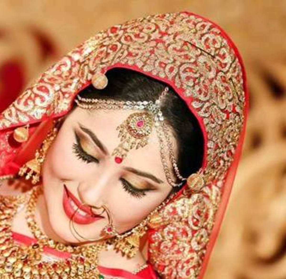 Lovely Bridal Makeup by Farzana Shakil, Bangladesh