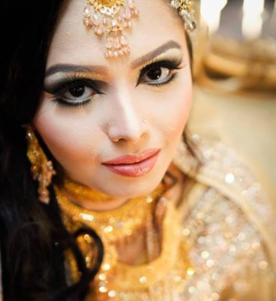 Simple yet stunning makeover by Zahid Khan.