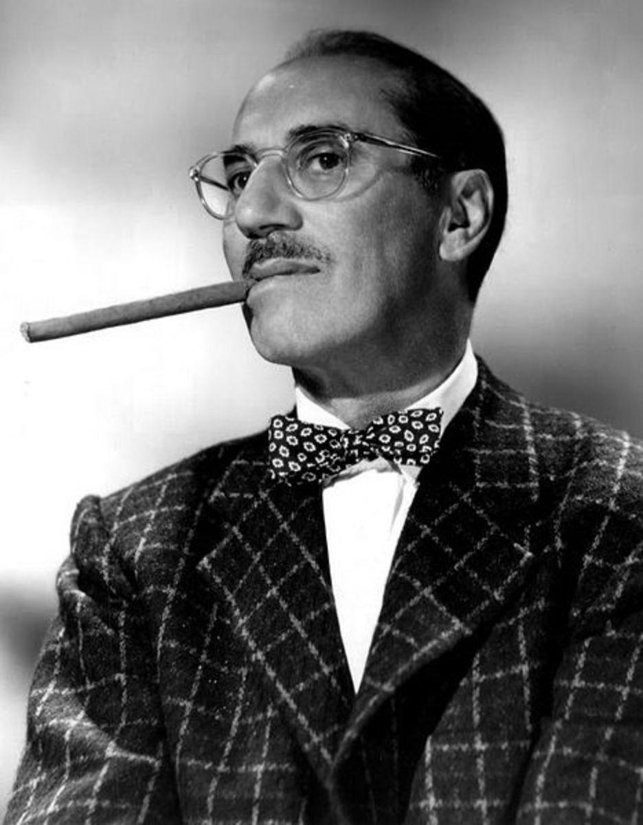 Groucho Marx in 1958. Source: Public domain, via Wikimedia Commons