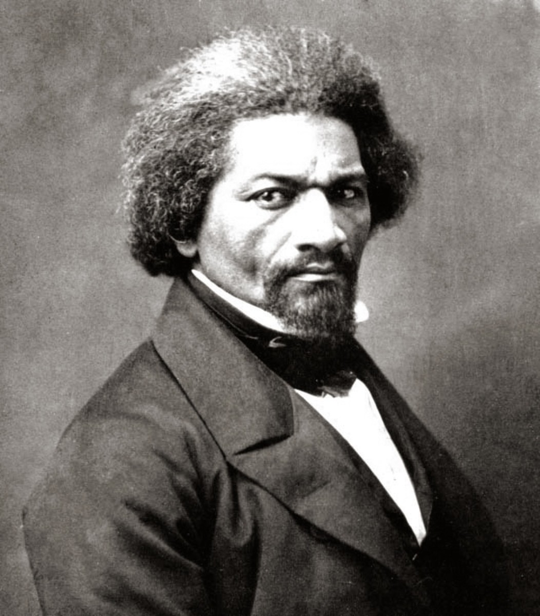 Frederick Douglass freed himself from slavery and went on to become one of America's leading abolitionists and even advised Lincoln on occasion.